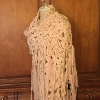 50% off Cecilia De Bucourt Accessories - Hand-Knit Shawl ...