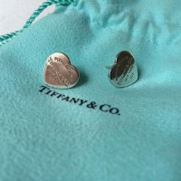 cheap tiffany and co heart earrings