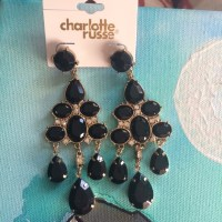 50% off Charlotte Russe Jewelry - Chandelier earrings from ...