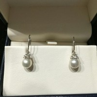 16% off Kay Jewelers Jewelry - 14K WG Cultured Pearl ...