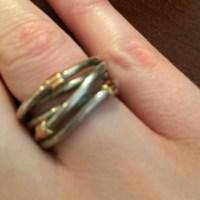 Pandora Jewelry | Silver Rope Ring | Poshmark