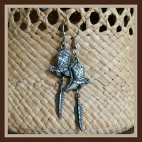 52% off Jewelry - Cute Cowboy Boot Earrings from Heather's ...