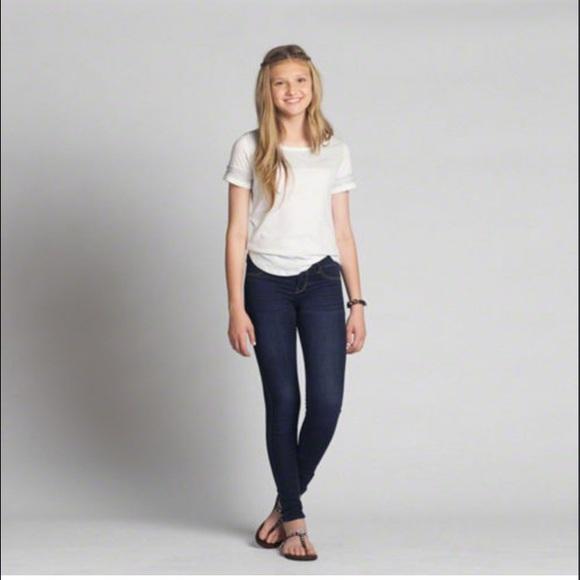 abercrombie girls skinny jeans