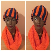 31% off Accessories - Hat with matching infinite scarf ...