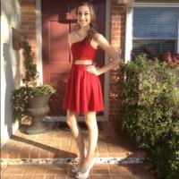 64% off ModCloth Dresses & Skirts - Red embellished formal ...