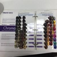 Pravana Chromasilk Hair Color Swatch Book | Coloring Pages