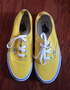 Vans shoes yellow size us mens womens also poshmark rh