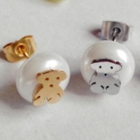 64% off Tous Jewelry - 2SETS GOLD/ SILVER FASHION BEAR ...