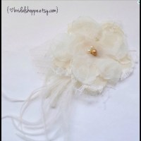 33% off BridalShoppe Accessories - Ivory Bridal Hairpiece ...