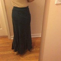 100% off Poof! Dresses & Skirts - Poofy denim looking maxi ...