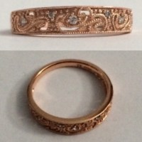 25% off Kay Jewelers Jewelry - 10k rose gold, 1/20th ...