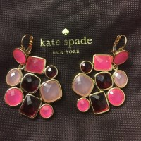 49% off kate spade Jewelry - Kate spade pink earrings from ...