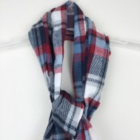 57% off Old Navy Accessories - NWT old navy plaid fringe ...