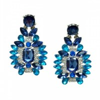 33% off Jewelry - Ocean blue statement earrings from Fay's ...