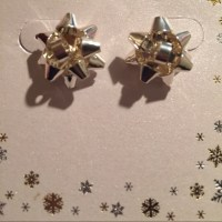 50% off Kohls Jewelry - Kohl's Silver Bow earrings from Dr ...