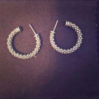75% off Lagos Jewelry - Lagos caviar hoop earrings from ...