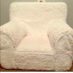 Pottery Barn Child Chair Covers Gorey Kids Other Cream Sherpa Cover Only Poshmark M 56ec9828eaf030b6a800f49e