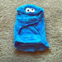70% off Other - NEW COOKIE MONSTER DOG COSTUME SIZE SMALL ...