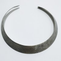 70% off H&M Jewelry - Silver distressed necklace/choker ...