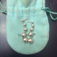Tiffany & Co. Jewelry | Authentic Tiffany Drop Ball Silver ...