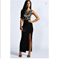 65% off Boohoo Dresses & Skirts - Black prom dress from ...