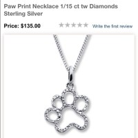 Kay Jewelers Jewelry | Sterling Silver With Diamonds Paw ...