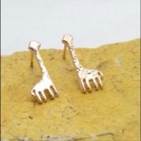 Jewelry | Host Pickrose Gold Giraffe Stud Earrings | Poshmark
