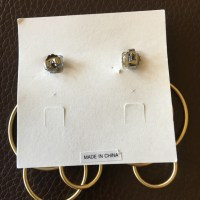 78% off Lia Sophia Jewelry - Lia Sophia gold multi hoop ...