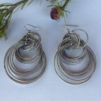 52% off Lia Sophia Jewelry - Lia Sophia silver multi hoop ...