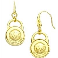 MICHAEL Michael Kors Jewelry | Mk Gold Earrings | Poshmark