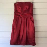 36% off David's Bridal Dresses & Skirts - Red apple prom ...