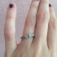 76% off Helzburg Jewelry - Helzberg diamond promise ring ...