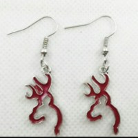 50% off Browning Jewelry - Red Silver Browning Buckmark ...
