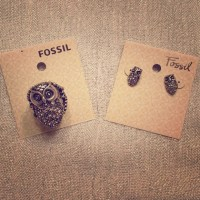 Fossil Jewelry Owl Ring And Earrings Set | Poshmark