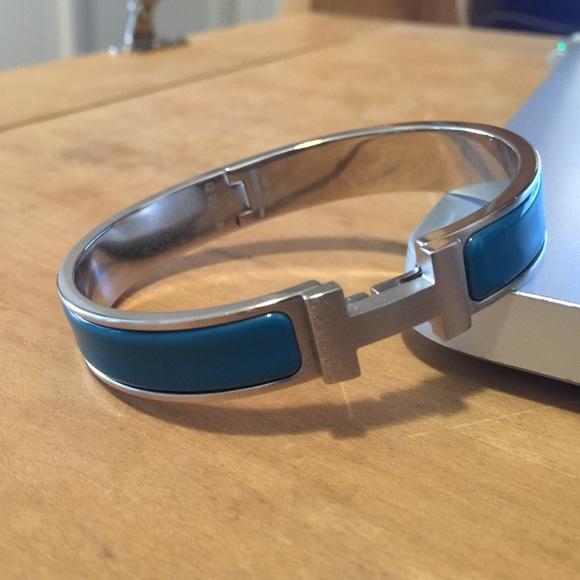 Hermes Accessories | Mens Clic Hh Bracelet | Poshmark
