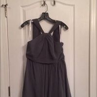 61% off Dresses & Skirts - Interchangeable Gray bridesmaid ...