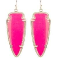 Kendra Scott - Hot pink Kendra Scott Skylar Earrings from ...
