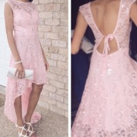 jcpenney -  Blush Pink High-Low Prom Dress  from Alicia ...