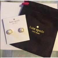 kate spade - Kate Spade Pearl Earrings from Corysuggested ...