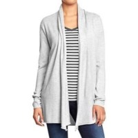 Old Navy Shawl Collar Sweater Jacket - Long Sweater Jacket