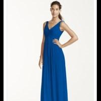 David's Bridal Dresses | Horizon Blue Cowelback ...