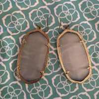 Kendra Scott - Danielle Kendra Scott earrings slate color ...