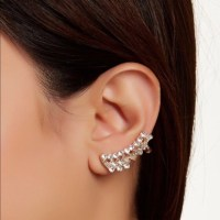 56% off Nasty Gal Jewelry - Crystal Earring Cuff Set from ...