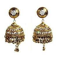 Large Chandelier Earrings w/Rhinestones OS from Holi's ...