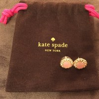 50% off kate spade Jewelry - Kate Spade Pink Earrings from ...