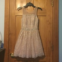 60% off City Studio Dresses & Skirts - Champagne ...