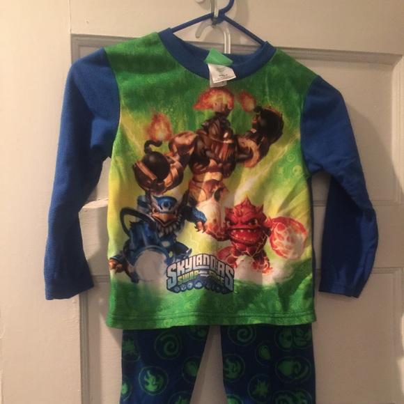 skylanders pajamas