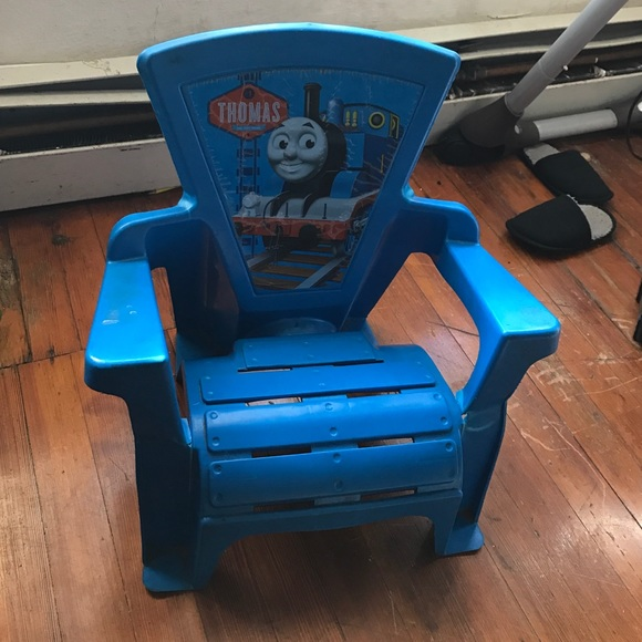 thomas train chair banquet chairs covers friends other kids the poshmark