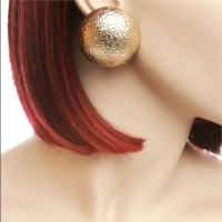 Jewelry | Oversized Large Gold Stud Earrings | Poshmark