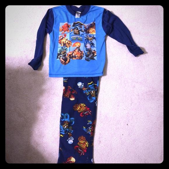 boys skylanders pajamas